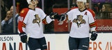 Jussi Jokinen scores 2 strange goals to lift Panthers over Maple Leafs