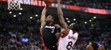 Raptors' DeRozan, Lowry combine for 59 as Heat lose Game 5