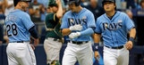 Rays upended by Danny Valencia's 3 homers in loss to A's