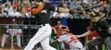 Giancarlo Stanton not in lineup vs. Rays Wednesday