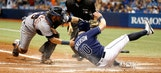 Rays falter in 9th, succumb to Tigers' rally in loss