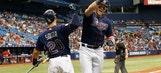 Brad Miller, Logan Morrison homer as Rays top Angels to stop slide