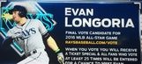 Rays' Evan Longoria up for Final Vote for All-Star Game