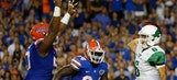 Injury to Luke Del Rio tempers Florida's dominating win over North Texas