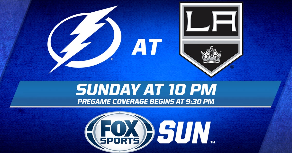 Tampa Bay Lightning At L A Kings Game Preview Fox Sports