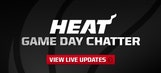 Miami Heat Game Day Chatter