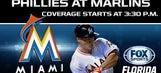 Phillies at Marlins LIVE GameTrax