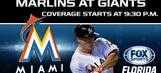 Marlins at Giants LIVE GameTrax