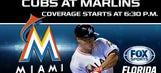 Cubs at Marlins LIVE GameTrax