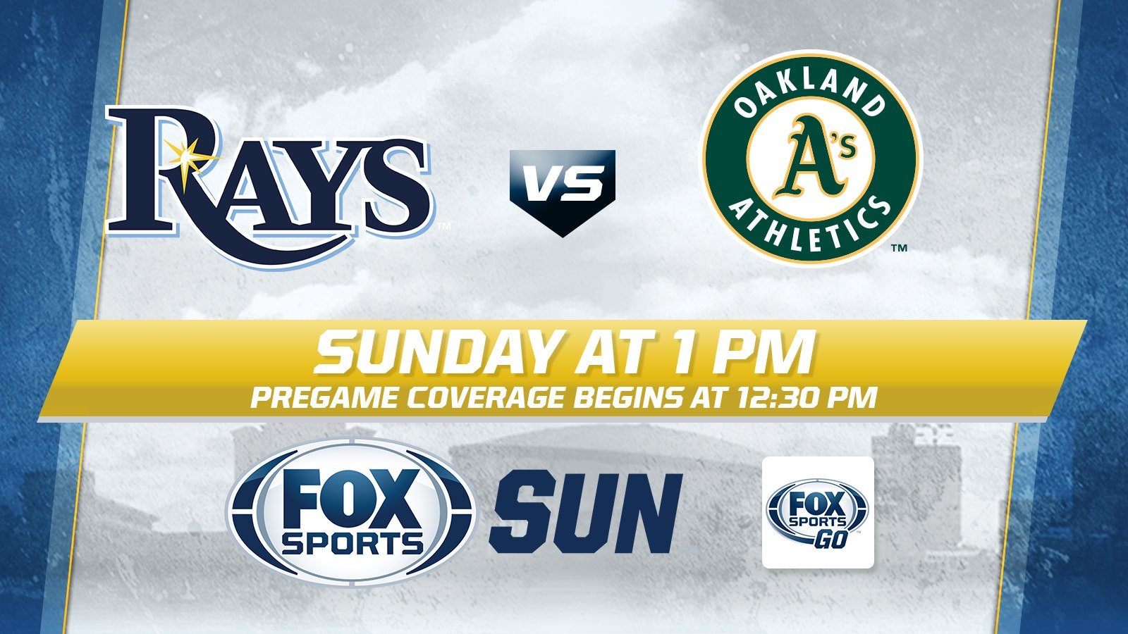 Oakland A S At Tampa Bay Rays Game Preview Fox Sports