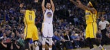 Curry's triple-double leads Warriors to win in coach Kerr's return