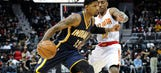 George ignites, but Pacers fall 102-96 to Hawks
