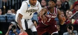 Purdue ousted from tourney in 85-83 double OT loss to Little Rock