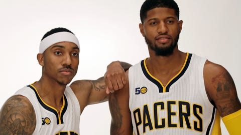 Indiana Pacers OVER 43.5