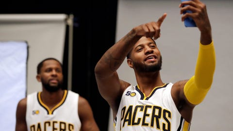 Indiana Pacers: Paul George discovering he really should be a power forward