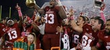 Hoosiers rally late to upset Michigan State 24-21 in OT