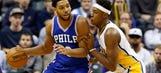 Pacers beat winless Sixers in overtime 122-115