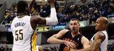 Recap: Pacers win third in row, beating Raptors 86-79