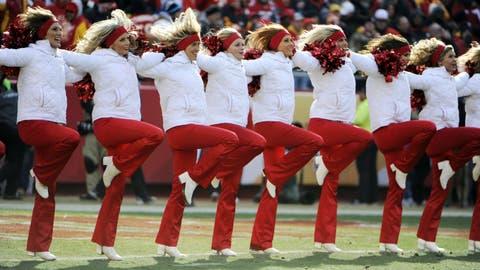 Kansas City Chiefs cheerleaders