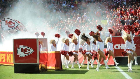 Kansas City Chiefs cheerleaders