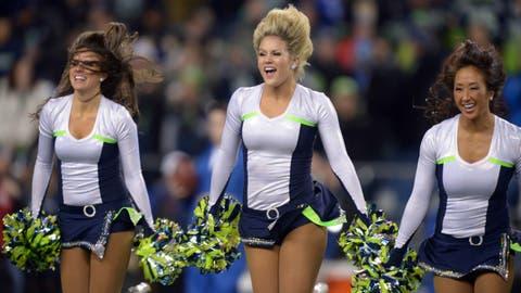 Seattle Seahawks cheerleaders