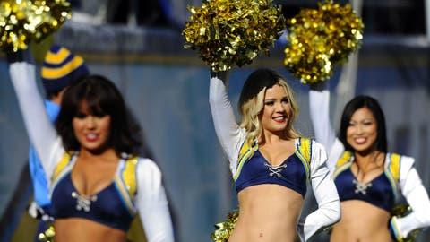 San Diego Chargers cheerleaders