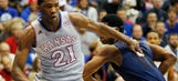 Kansas to have Embiid, Greene vs. Texas Tech