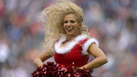 Houston Texans cheerleader