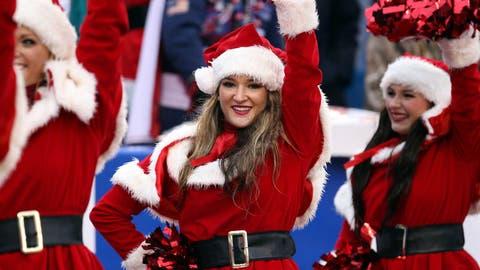 Buffalo Bills cheerleader