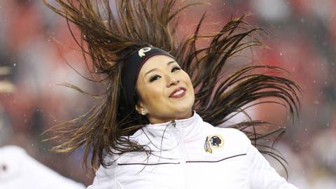 Philadelphia Eagles cheerleader