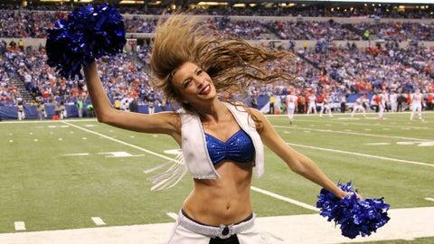 Indianapolis Colts cheerleader