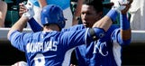 Perez, Moustakas shine in Royals win over A's