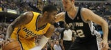 Pacers go flat in 103-77 loss to Spurs