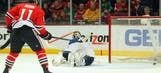Blues toppled by Blackhawks, 4-2