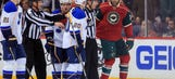 Wild's Rupp suspended for hit on Oshie