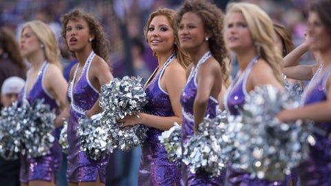 Big 12 Football Cheerleaders