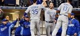 Royals' Grifol: If we're in playoffs, no one will care we don't hit homers