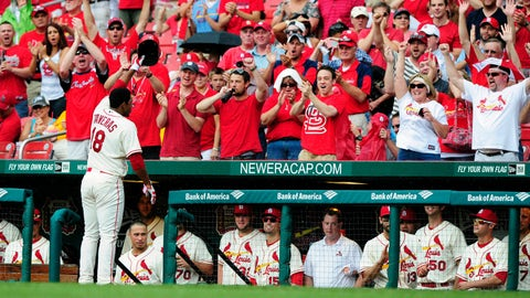 Cardinals' road to NL Central title