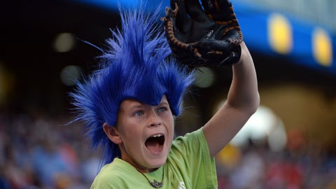 Kansas City Royals fan