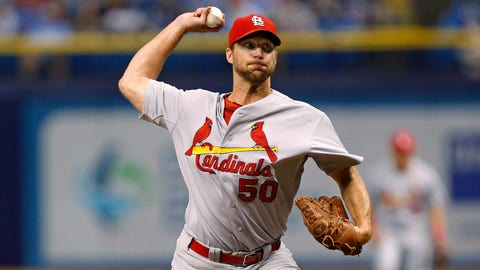 No. 8: Wainwright quiets the Rays -- June 10