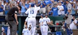 Royals beat Dodgers 5-3 to end four-game skid