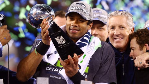 Seattle Seahawks: QB Russell Wilson, third round (75 overall), 2012