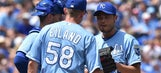 Royals' win streak ends at five with 10-3 loss to Tribe
