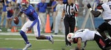 Kansas survives scare, beats SE Missouri State 34-28