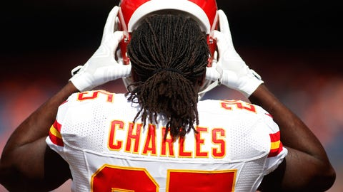 Kansas City Chiefs: RB Jamaal Charles