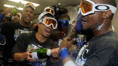 Royals clinch