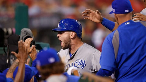 No. 7: ALDS Game 1, Oct. 2 at Anaheim -- Royals 3, Angels 2