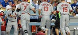 Cardinals-Dodgers NLDS Game 1 photo gallery