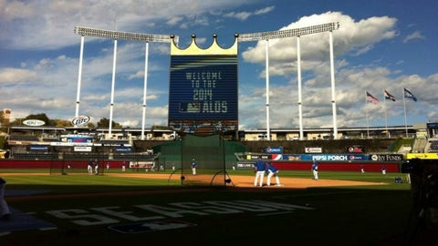 2014 ALDS; Kansas City d. Los Angeles