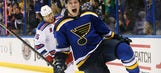 Opening Night: Rangers-Blues photo gallery